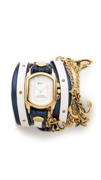 La Mer Collections Chateau Nautical Wrap Watch