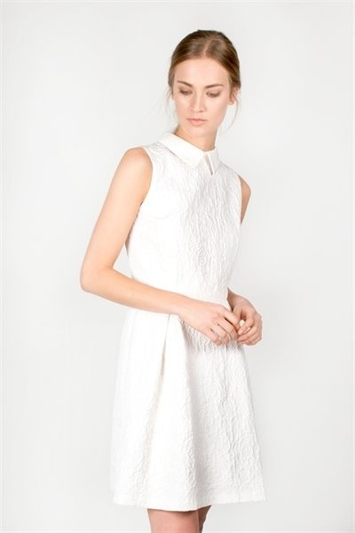 Antonia Dress  http://relatedapparel.com/Antonia-Dress.aspx  #relatedapparel #dress #white #fashion #shopping #designer