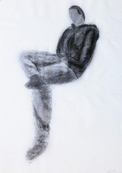 Inês Brás : Carvão s/ papel, 594 x 420 mm