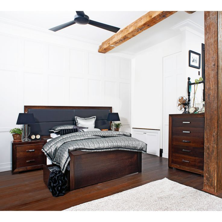 Hunter Bedroom Collection manufactured by Flamingo Furniture, All Australian Made!