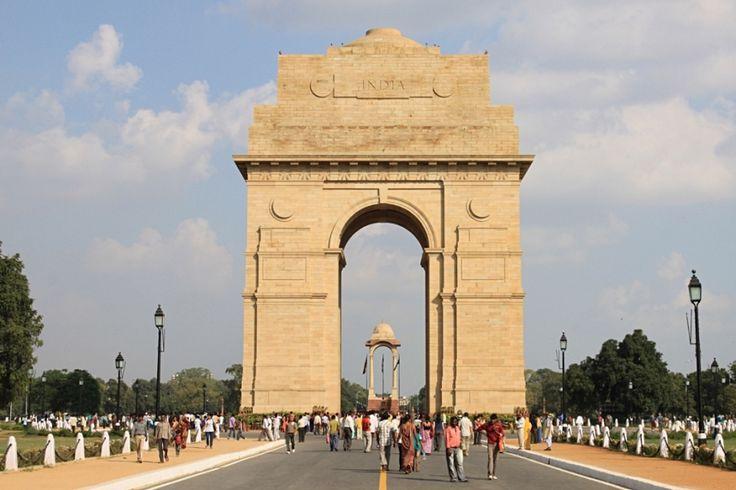 India Gate a New Delhi. Foto di Samuele Fracasso