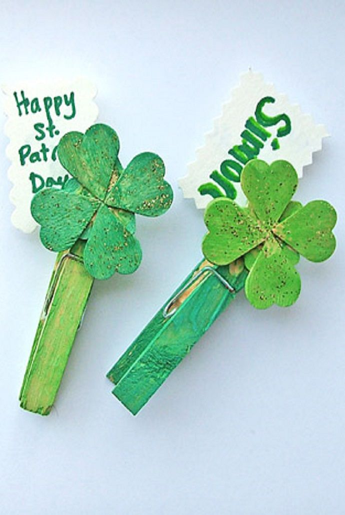 Click Pic For 50 St Patricks Day Crafts Kids