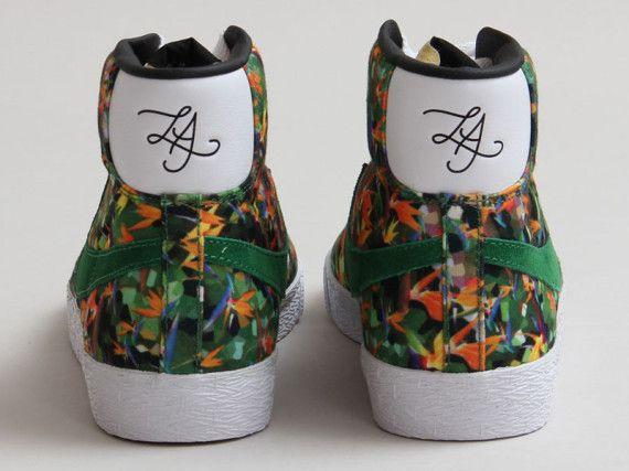 "Nike Blazer Mid PRM VNTG QS ""Floral Pack: Chicago""   ideias anacapri    Pinterest   Blazers"