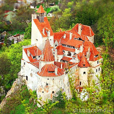 Bran Castle in Romania, also known as Dracula's Castle
