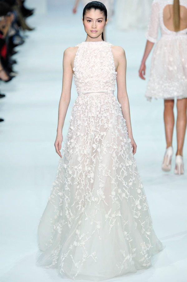 Elie Saab 2013 wedding dress