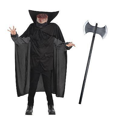 Mens #headless horseman #beheaded bloody axe halloween horror fancy #dress costum,  View more on the LINK: http://www.zeppy.io/product/gb/2/152223656511/