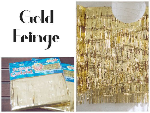 This Gold Fringe Photo backdrop for new year party......Extremely Creative DIY Photo Booth Backdrop Ideas. Simply Amazing!  #diycrafts #diyphotoboothbackdrop  #diyphotographbackdrop