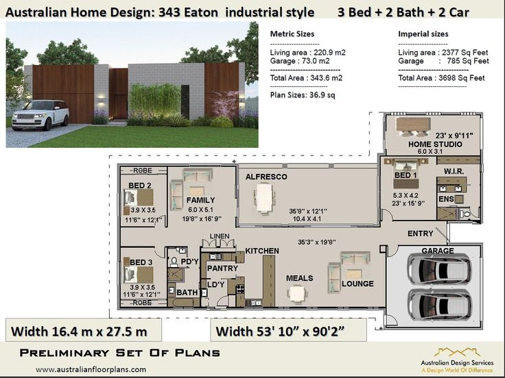 3 Bedroom Best Selling House Plans Small and Tiny Homes
