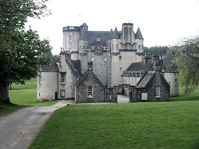 Castle Fraser, Scotland, where some of my father's side of the family originated.