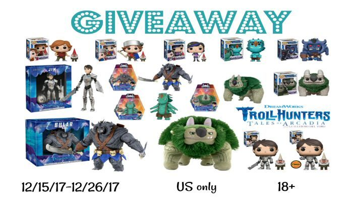 End Date: 12/26/2017, Eligibility: US Enter to #win Trollhunters Collectables and Funkos in this #giveaway from lifewithheidi.com.
