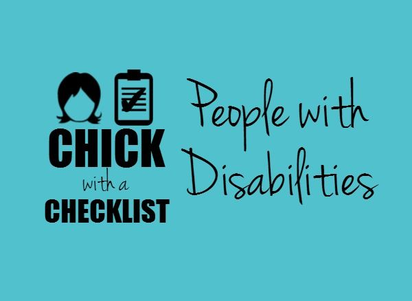 Back-up plan for accessible transportation? Check! A Chick with a Checklist knows that people with disabilities have unique needs when it comes to preparing for disaster. Check out the Resources for People with Disabilities Pin Board for resources and checklists. #chickwithachecklist