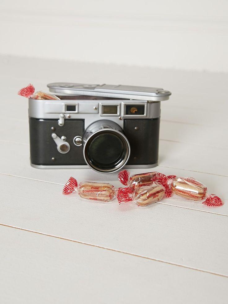 Camera Tin With Humbug Mints - Gifts - White Stuff