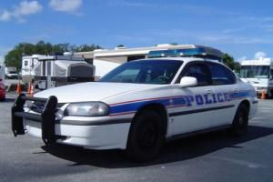 2002 Chevrolet Impala police Photo