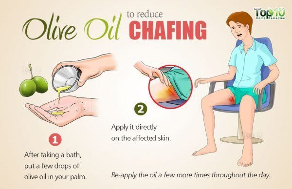 olive oil for chafing | Chafing