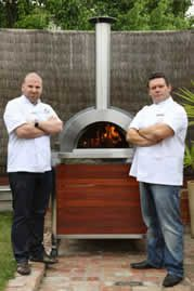 Click for a larger view - Wood Fired Pizza Oven Z1100 Endorsed by Celebrity Chefs Gary Mehigan and George Calombaris