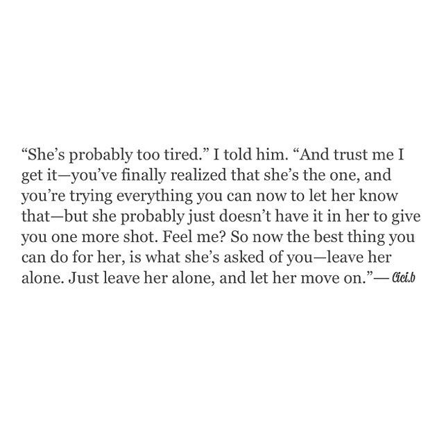 Just leave her alone ... #cicib #thecrimsonkiss #writersofig