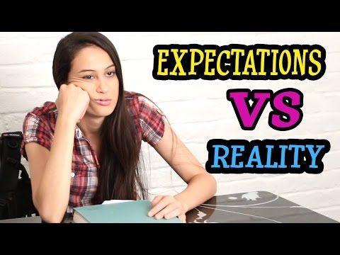 BACK TO SCHOOL - EXPECTATIONS VS REALITY || MeisjeDjamila - YouTube