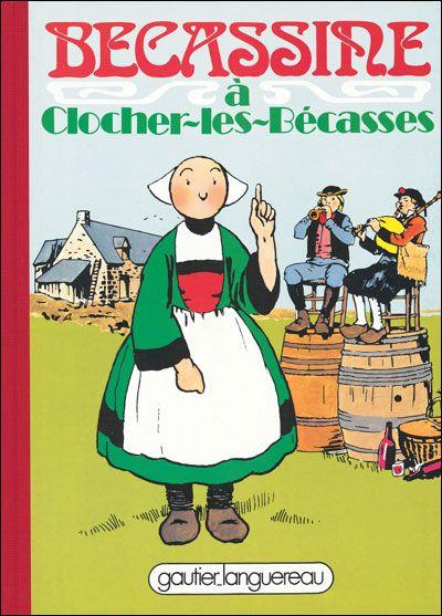 France. Bécassine est un personnage de bande dessinée créé par Émile-Joseph-Porphyre Pinchon en 1905 et apparu pour la première fois dans le premier numéro de La Semaine de Suzette, magazine pour fillettes, le 2 février 1905. .