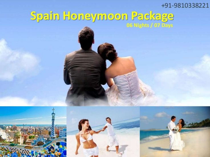 #SpainHoneymoonPackages  #HoneymooninSpain  #SpainTours Europe Group Tours offers Best #HoneymoonPackages for Spain from Delhi India with all inclusive resorts, hotels and cover all romantic destinations, sightseeing and most romantic places in Spain.