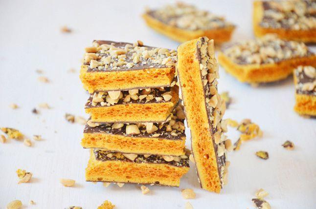 Kublanka vaří doma - Medové plástve s čokoládou a arašídy