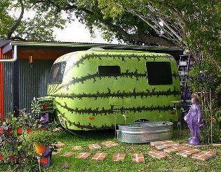 "Watermelon RV!  Makes me think of that song ""Watermelon Crawl""  Ha ha!"