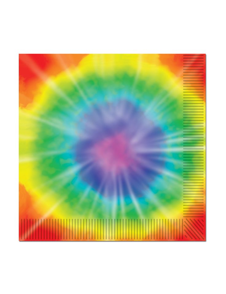 16 tovagliolini di carta in stile hippie 25 cm x 25 cm su VegaooParty, negozio di articoli per feste. Scopri il maggior catalogo di addobbi e decorazioni per feste del web,  sempre al miglior prezzo!