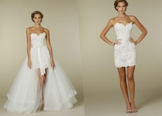 Короткое свадебное платье трансформер - http://1svadebnoeplate.ru/korotkoe-svadebnoe-plate-transformer-2788/ #свадьба #платье #свадебноеплатье #торжество #невеста