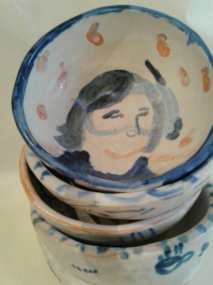 Handmade ceramic bowls by lourdes ral