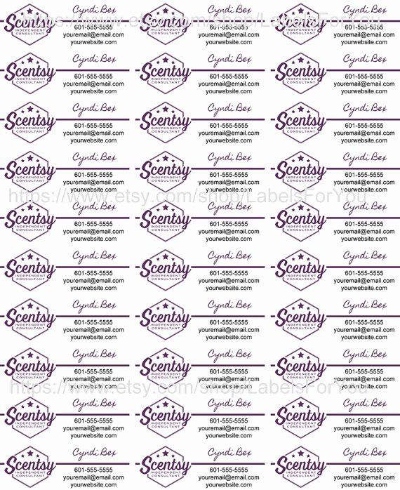 Scentsy Label Template 1502 Elegant Scentsy Label Template 1500 Scentsy Business Scentsy Ideas Printables Scentsy