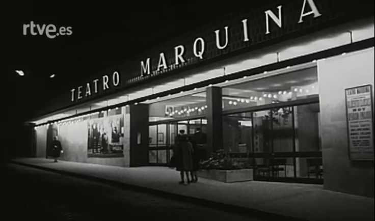 Teatro Marquina - Inagurado en Diciembre 1962