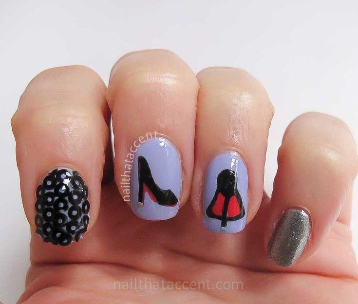 Mejores 168 imágenes de Red Nails en Pinterest | Casos, Diseños de ...