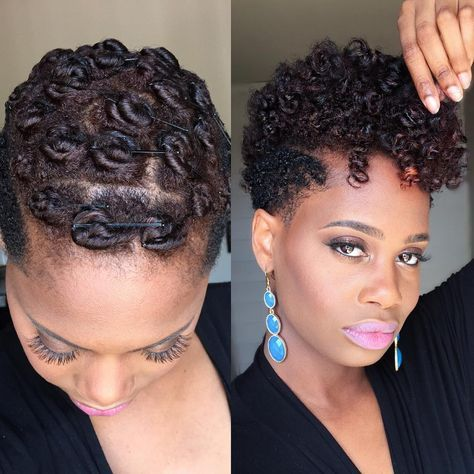 Pin Curls on Tapered Natural Hair Suggested Videos
