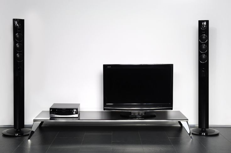 Envy TV Mini #TVstand #design by ALE Design Studio #interiordesign #home #steel #modern #paintedglass #Lestrocasa