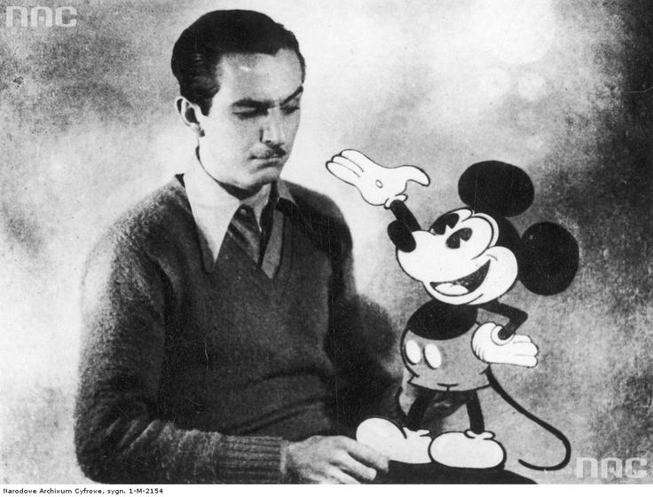 Walt DIsney, 1934.