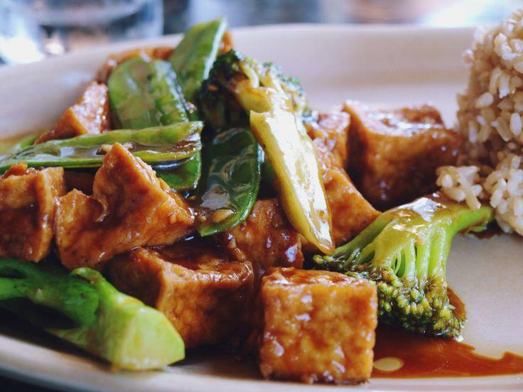 Стир-фрай с тофу и кешью  Блюдо как будто из крутого ресторана.