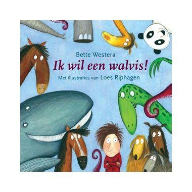 Ik wil een walvis! - B. Westera  Tim weet precies wat hij dit jaar voor zijn verjaardag wil hebben: een huisdier en anders niks. Al zijn vriendjes hebben immers ook een huisdier.  EUR 13.99  Meer informatie