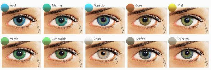 Lentes de contato coloridas para Astigmatismo