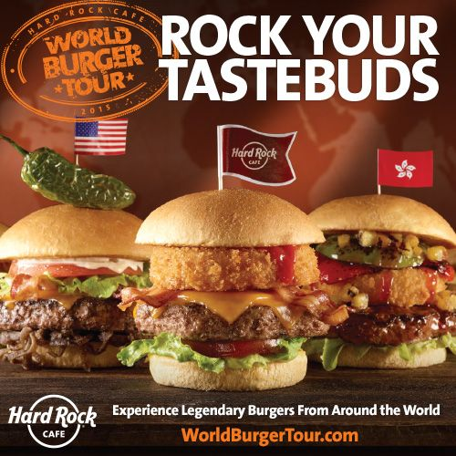 #WorldBurgerTour Legendary Burgers on Tour!