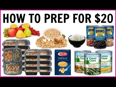 What I Ate to Lose 100 POUNDS || Quick Meal Prep for Breakfast, Lunch & Dinner on a Budget - YouTube