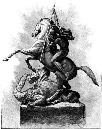 St George and the dragon | The Queen's University of Belfast | Ulster Society: Happy St. George's ...