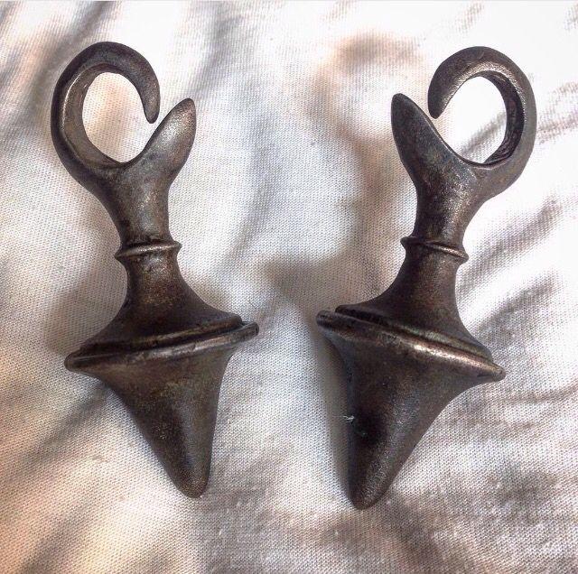 earring from dayak........matrerial bronze#ethnicjewellery.....