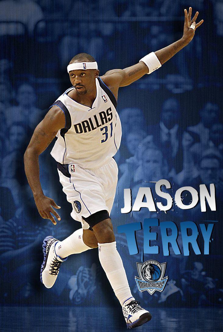 My favorite NBA Basketball Player...Jason Terry. He'll always be a Mav in my heart.