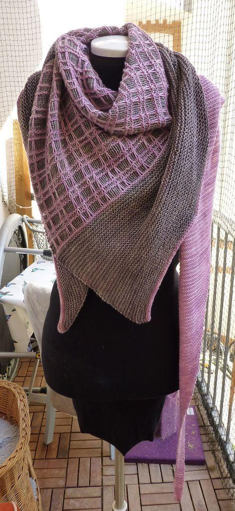 603 besten knitting shawls scarf cowl Bilder auf Pinterest ...
