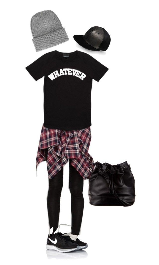 Casual by kate-rose-ellery on Polyvore featuring polyvore, fashion, style, Cynthia Rowley, Cutie Fashion, NIKE, ZALORA, Topshop, SILENT by Damir Doma and clothing