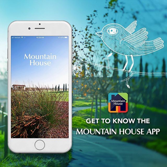 Did You Know That Mountain House Has Its Own App Whether You Require Step By Step Driving Directions Or Would Like Mountain House House App Driving Directions