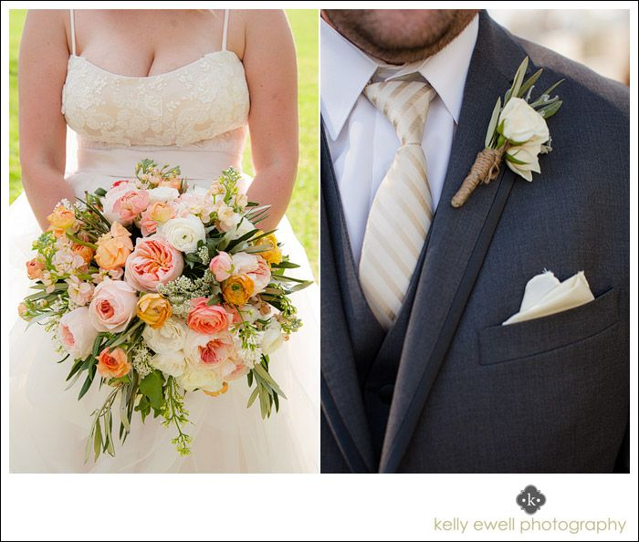 Peach Garden Rose Boutonniere 8 best vintage wedding flowers images on pinterest | vintage