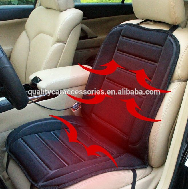 12V Car Heated Seat Electric Heating Pad Winter Car Seat Cushion Auto Supplies Heater Heat Warmer Cover Car Covers Cover