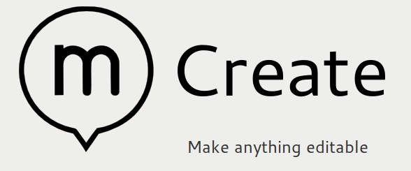 Create.js is a comprehensive web editing interface for Content Management Systems. It is designed to provide a modern, fully browser-based HTML5 environment for managing content. Create can be adapted to work on almost any content management backend. On GitHub >>> https://github.com/bergie/create