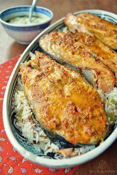¡Sano y de rechupete!: Contra el calor, comidas en 30 minutos a lo Jamie Oliver: salmón al horno en marinada de chile rojo