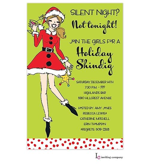 142 best christmas cocktail party invitations partyinvitations, Party invitations